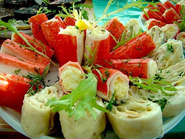Салат у крабових палочках